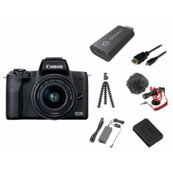 Canon EOS M50 Mark II Premium Live Stream Kit (черен)