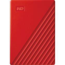 Western Digital 4TB My Passport USB 3.2 Gen 1 (red)