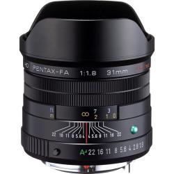 обектив Pentax HD 31mm f/1.8 FA Limited (черен)