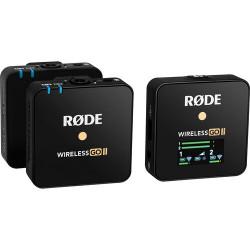 Rode Wireless GO II 2-Person Wireless Mic System (черен)
