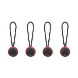 аксесоар Peak Design Strap Anchor 4-Pack (червен/черен)