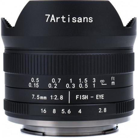 7ARTISANS 7.5MM F/2.8 II - MFT