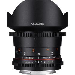 Samyang 14mm T/3.1 VDSLR ED AS IF UMC II - Canon EOS R (RF)