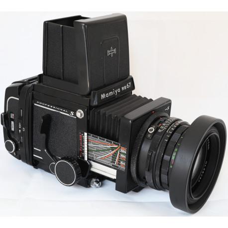 Mamiya RB67 PRO S+Mamiya Macro C 140mm f/4.5+Mamiya Sekor 65mm f/4.5 (употребяван)