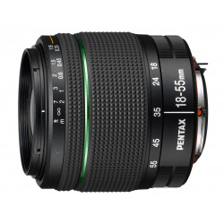 обектив Pentax SMC 18-55mm F/3.5-5.6 II DA (употребяван)