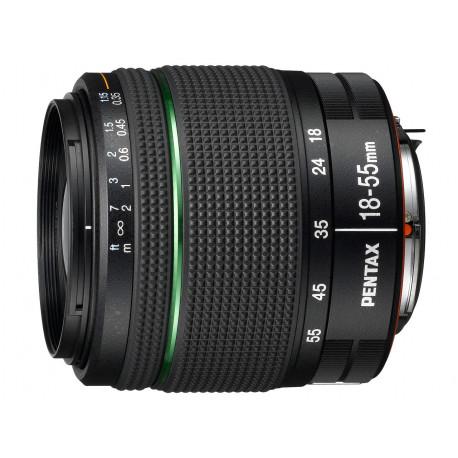 Pentax SMC 18-55mm f/3.5-5.6 DA AL WR (употребяван)