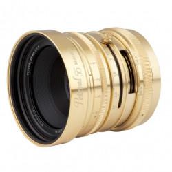 обектив Lomo Petzval 55mm f/1.7 MKII Bokeh Control (Brass) - Canon EOS R (RF)
