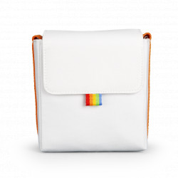 чанта Polaroid Now Camera Bag (бял/жълт)
