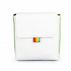 чанта Polaroid Now Camera Bag (бял/зелен)