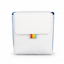 чанта Polaroid Now Camera Bag (бял/син)