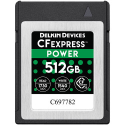 Delkin Devices POWER CFexpress 512GB