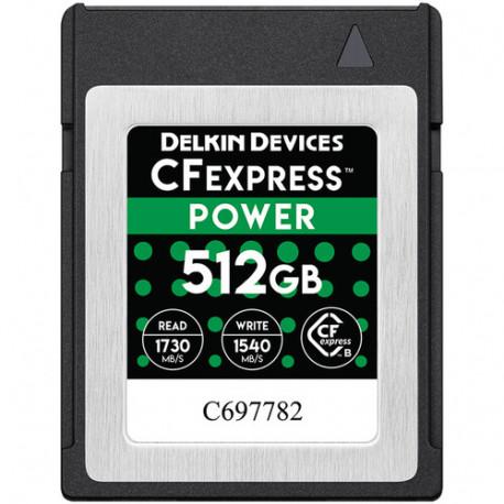 DELKIN DEVICES DCFX1-512 POWER CFEXPRESS 512GB R1730/W1430