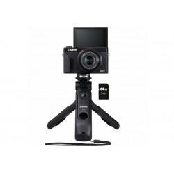Camera Canon PowerShot G7 X Mark III Premium Vlogger Kit + Memory card Lexar Professional SD 64GB XC 633X 95MB / S