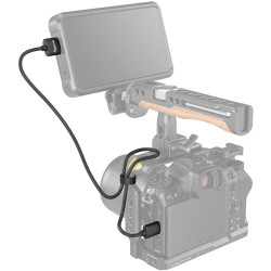 аксесоар Smallrig 3041 Ultra-Slim 4K HDMI Adapter Cable (Type C - Type A) 55 cm