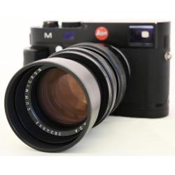 фотоапарат Leica M (Typ 240) + Leica Handgrip M + Leica Summicron M 90mm f2 Leitz Canada (употребяван)