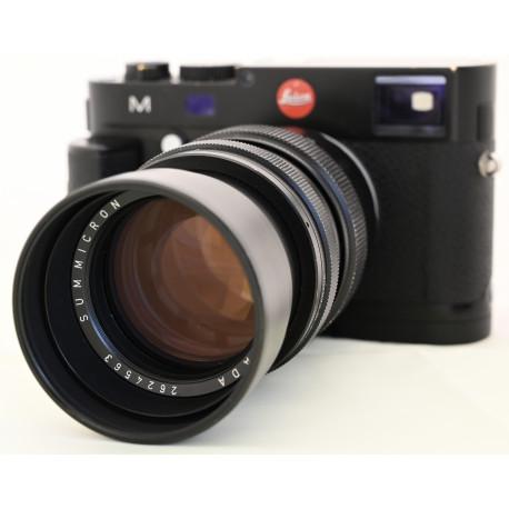 Leica M (Typ 240) + Leica Handgrip M + Leica Summicron M 90mm f2 Leitz Canada (употребяван)
