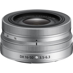 Nikon NIKKOR Z DX 16-50mm f/3.5-6.3 VR (сребрист)