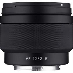 Lens Samyang AF 12mm f / 2 FE - Sony E + Accessory Samyang Lens Station - Sony E