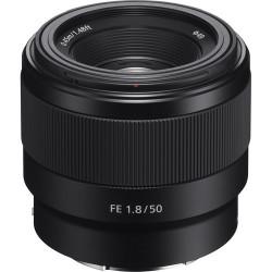 обектив Sony FE 50mm f/1.8 (употрбяван)