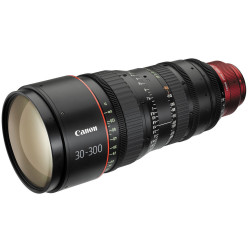 Lens Canon CN-E 30-300mm T2.95-3.7 LS - Canon EF