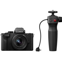 фотоапарат Panasonic Lumix G100 + обектив 12-32mm f/3.5-5.6 + Tripod Grip