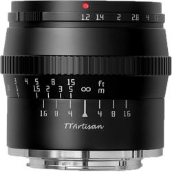 обектив TTartisan APS-C 50mm f/1.2 - Sony E