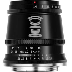 Lens TTartisan APS-C 17mm f / 1.4 - MFT