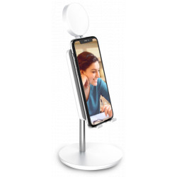 """Tripod Digipower Success Smartphone Stand + 6"""" LED Ring Light"""