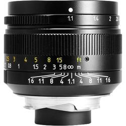 обектив 7artisans 50mm f/1.1 - Leica M silvery (употребяван)