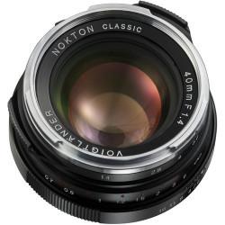 обектив Voigtlander Nokton Classic 40mm f/1.4 SC - Leica M (употребяван)