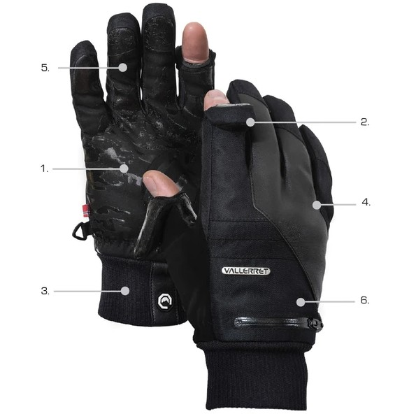 фотографски ръкавици Vallerret Markhof Pro Model 2.0