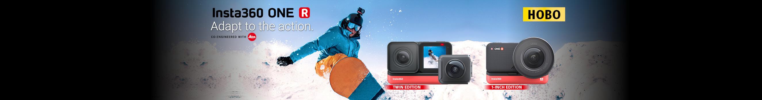 Видеокамери Insta360 One R в магазини ФотоСинтезис