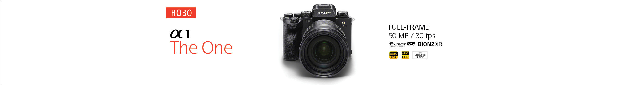 Sony A1 Camera in PhotoSynthesis Stores