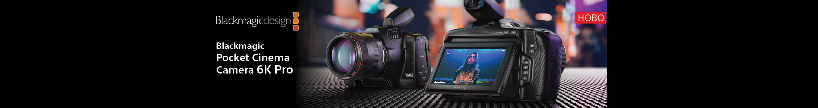 Новата кино камера Blackmagic Design Pocket Cinema Camera 6K Pro в магазини ФотоСинтезис