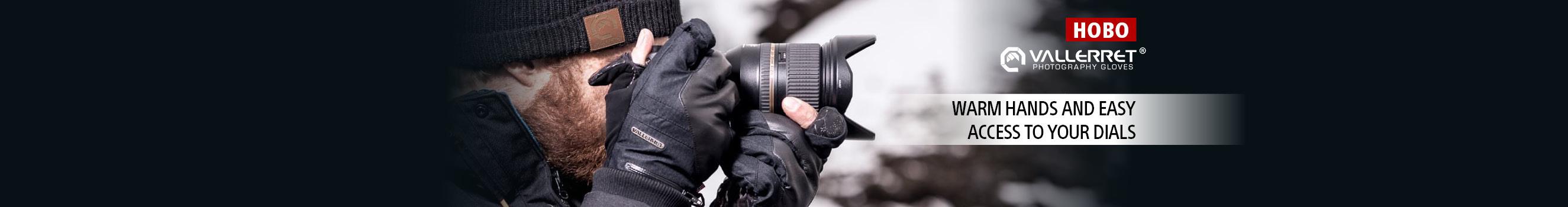 Vallerret - специализирани фотографски ръкавици