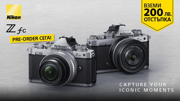 Фотоапарат Nikon Z fc на промо цена