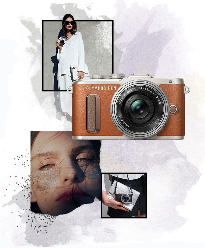 OLYMPUS PEN E-PL8 WHITE BODY